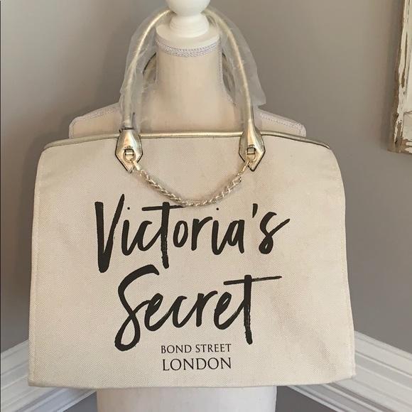 Victoria's Secret London Tote Bag NWT